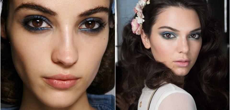 Модный макияж весна-лето 2016 (30 фото)