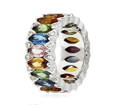 кольцо с сапфирами Niquesa