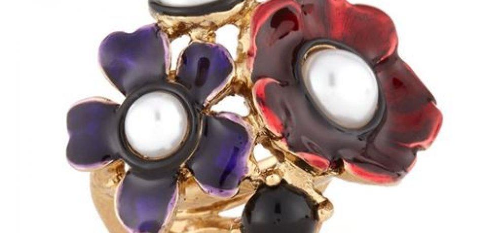 Красивые кольца с цветами (20 фото дизайнов)