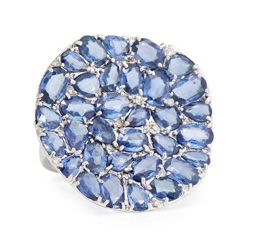 кольцо с сапфирами Rina Limor