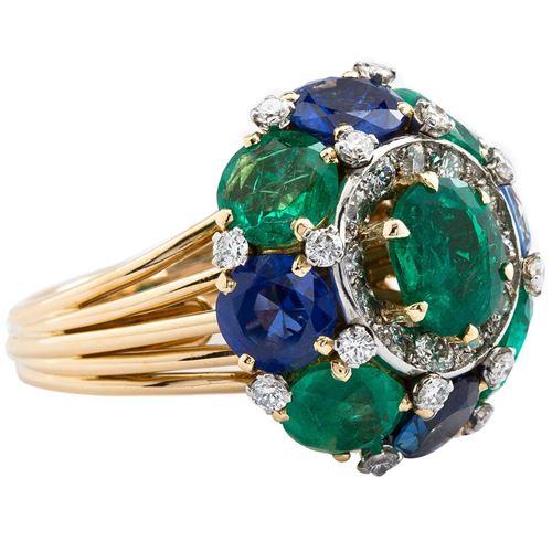 кольцо с сапфирами TMW Jewels.Co