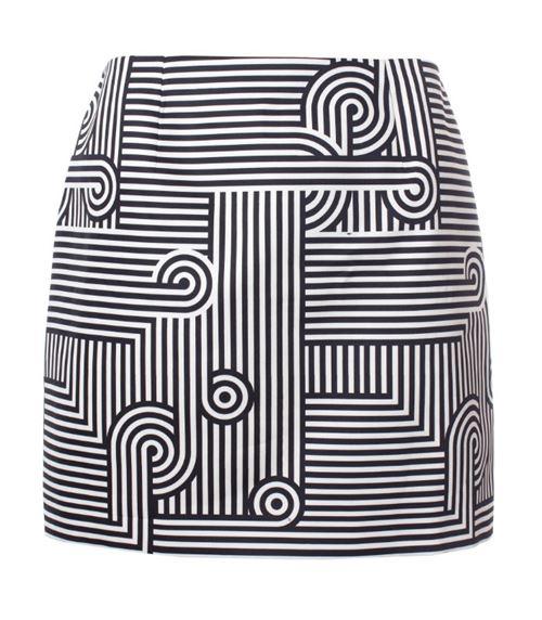 короткая юбка-карандаш 2016