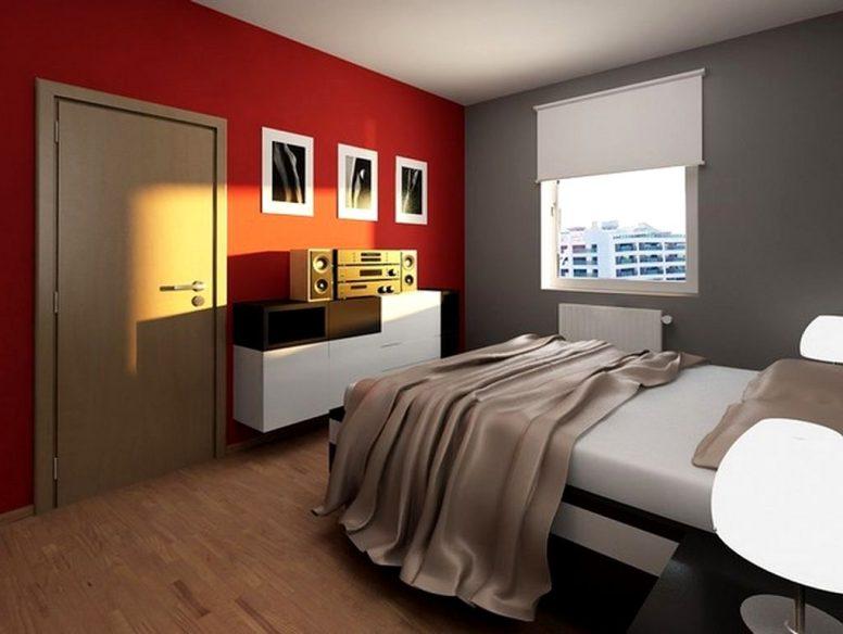 красный цвет в дизайне интерьера фото (1)