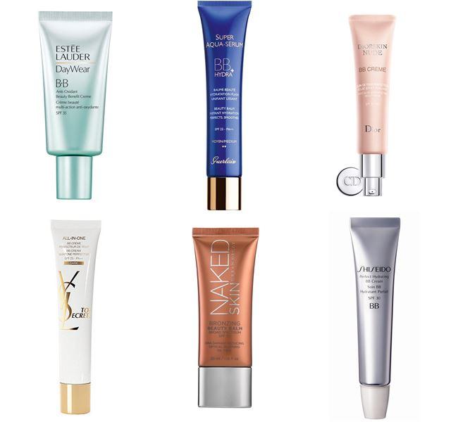 Список лучших BB кремов: Estée Lauder, Guerlain, Diorskin,Yves Saint Laurent, Urban Decay, Shiseido