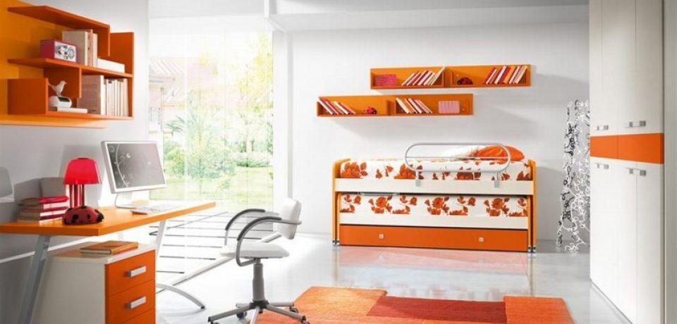 Оранжевый цвет в дизайне интерьера (25 фото примеров)
