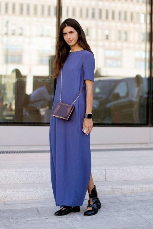 платье с ботинками и сапогами фото (1)