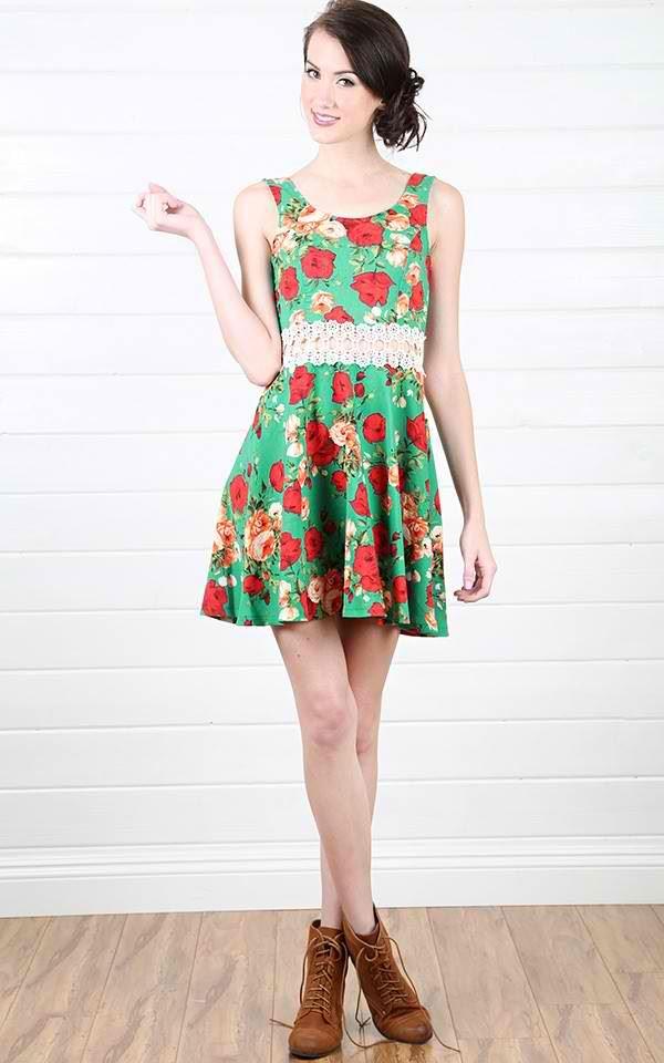 платье с ботинками и сапогами фото (14)