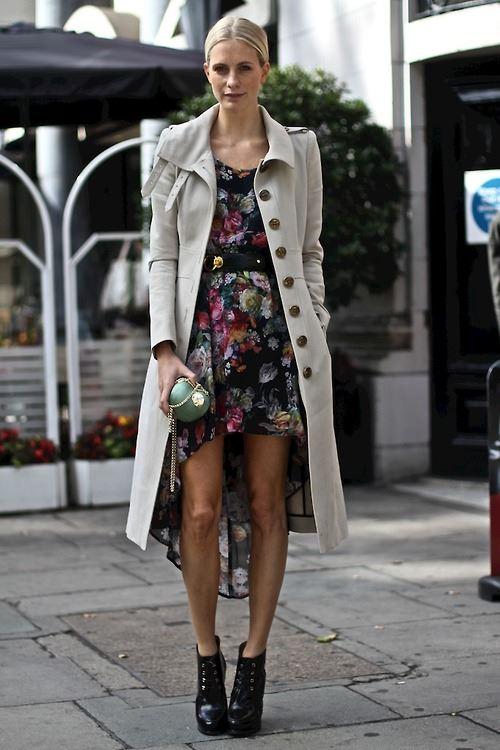 платье с ботинками и сапогами фото (17)