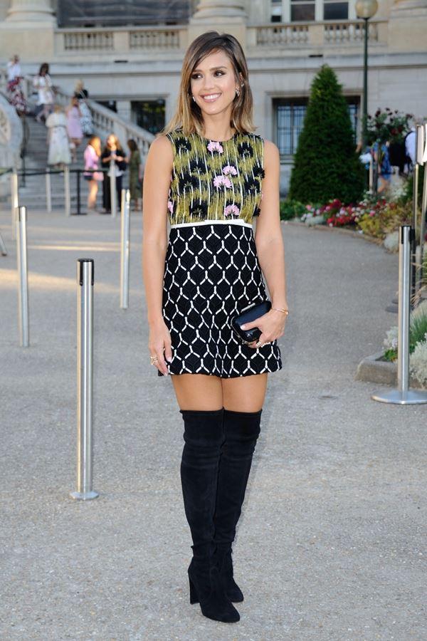 платье с ботинками и сапогами фото (6)