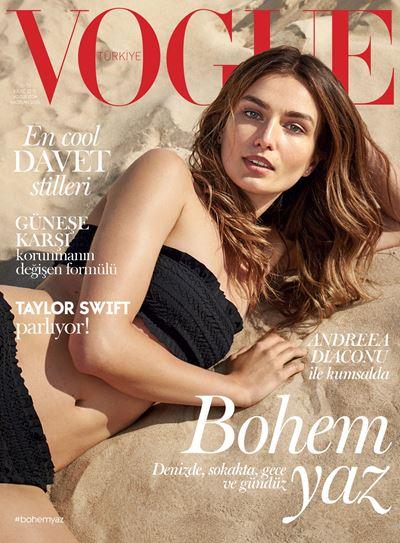 Андреа Диакону в фотосессии Vogue Turkey