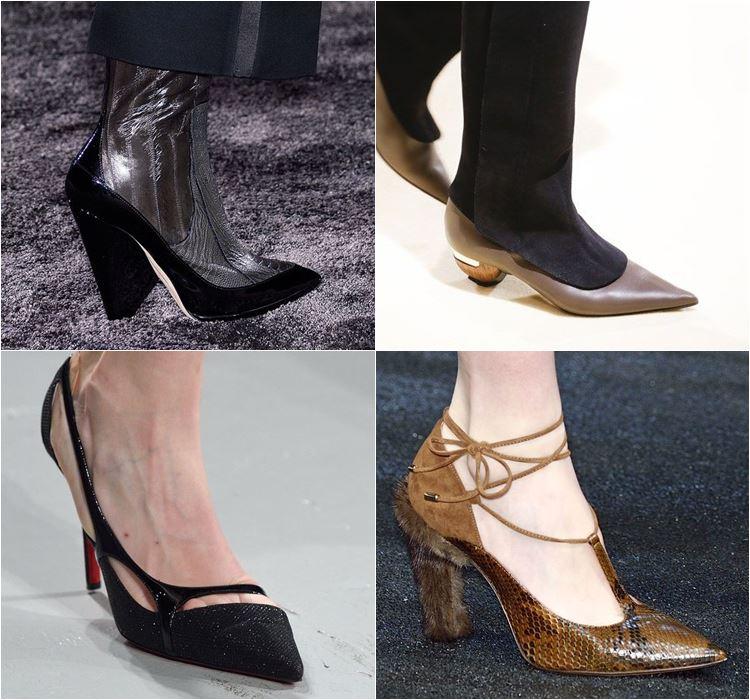 Женская обувь осень-зима 2016-2017 - модные тенденции  (10)