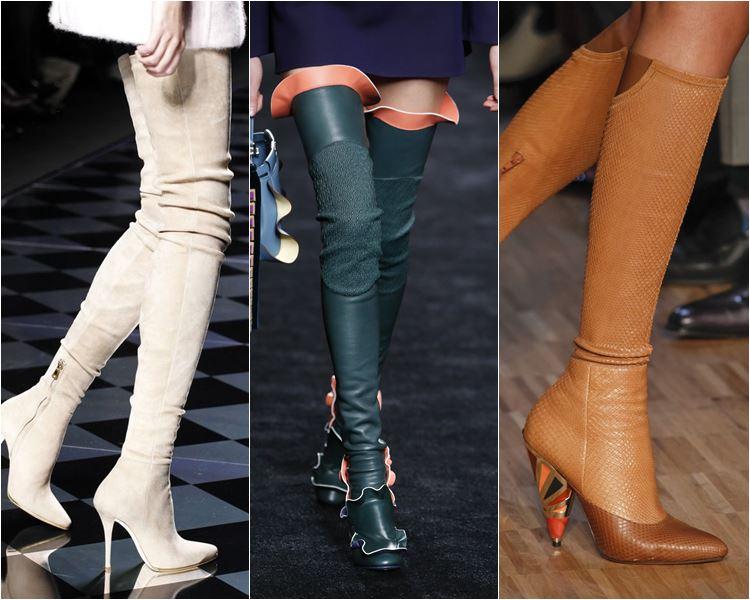 Женская обувь осень-зима 2016-2017 - модные тенденции  (11)
