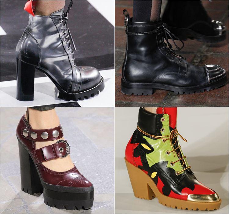 Женская обувь осень-зима 2016-2017 - модные тенденции  (12)