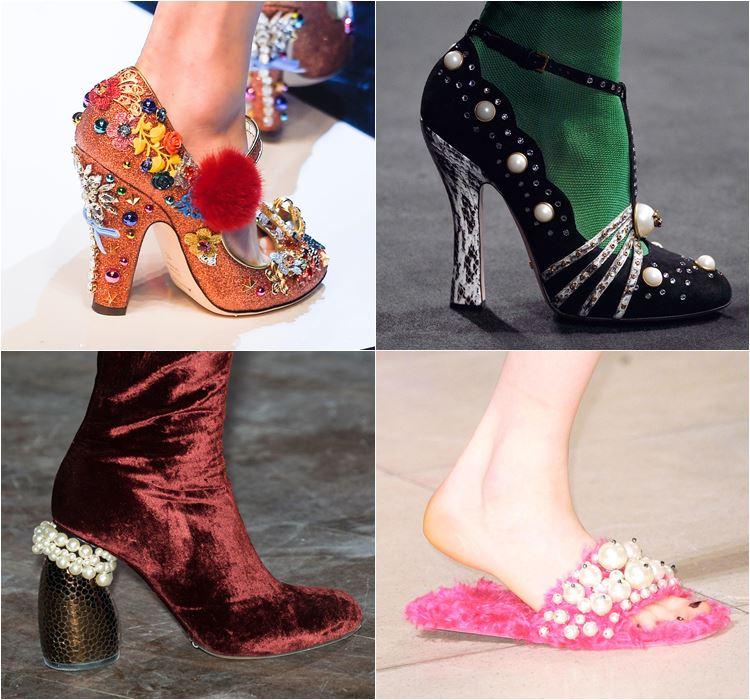 Женская обувь осень-зима 2016-2017 - модные тенденции  (14)