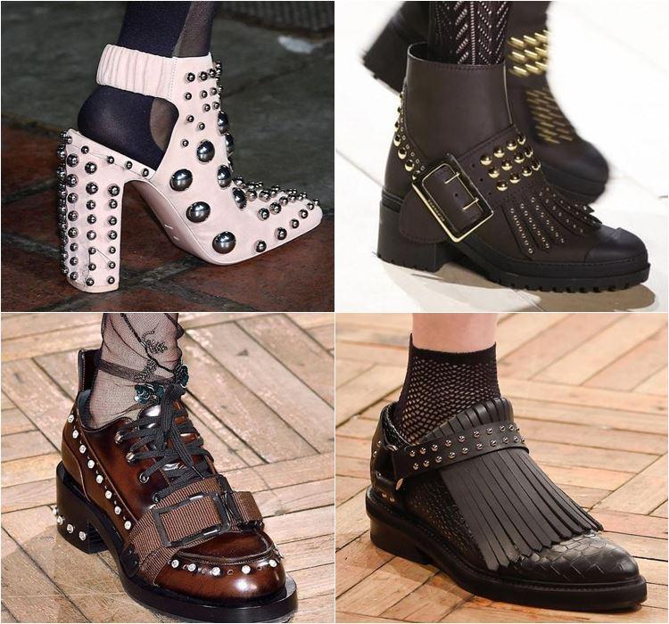 Женская обувь осень-зима 2016-2017 - модные тенденции  (19)