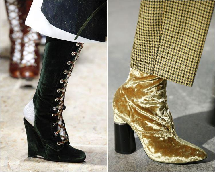 Женская обувь осень-зима 2016-2017 - модные тенденции  (2)