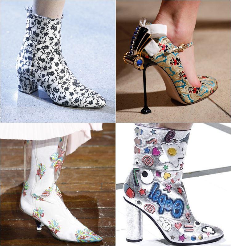 Женская обувь осень-зима 2016-2017 - модные тенденции  (21)