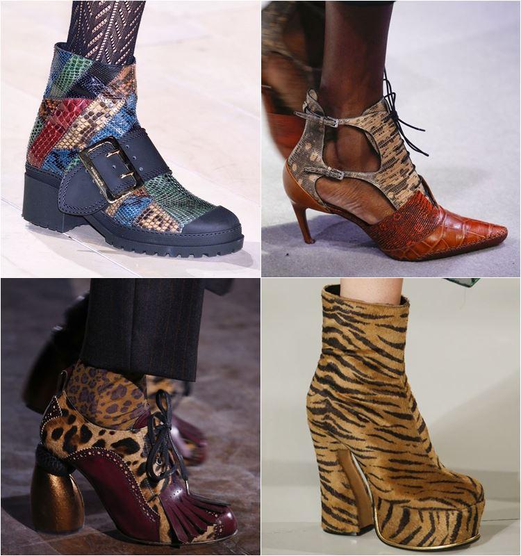 Женская обувь осень-зима 2016-2017 - модные тенденции  (4)