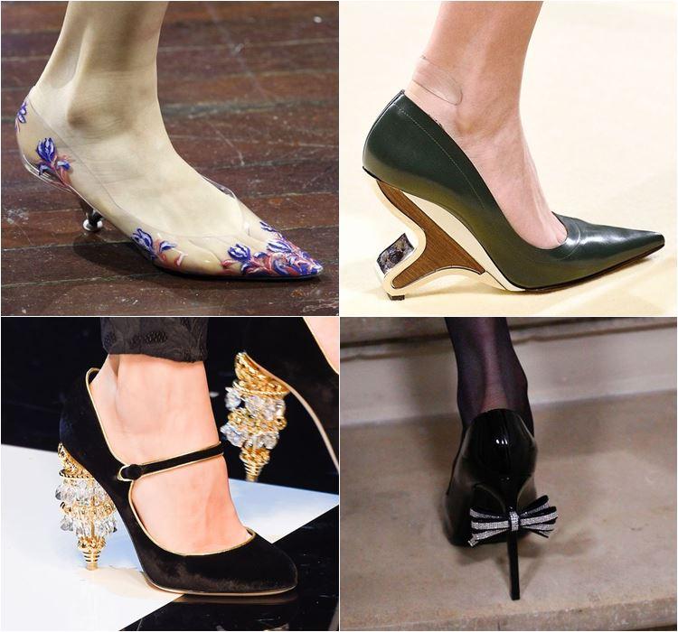 Женская обувь осень-зима 2016-2017 - модные тенденции  (7)