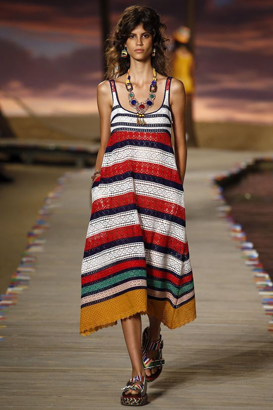 длинные пляжные сарафаны лето 2016 (19)