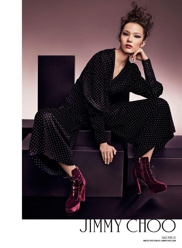 jimmy Choo рекламная кампания аксессуаров осень-2016 (1)