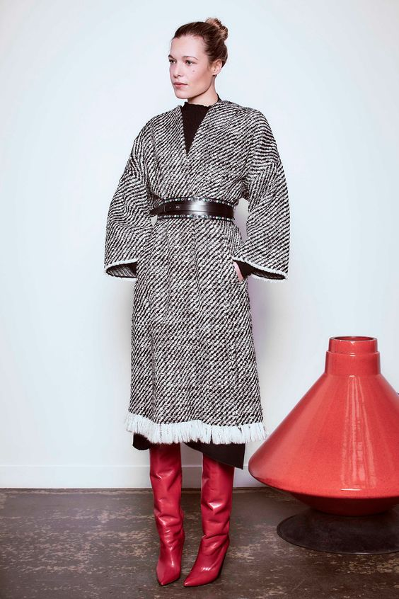 пальто кимоно Isabel Marant