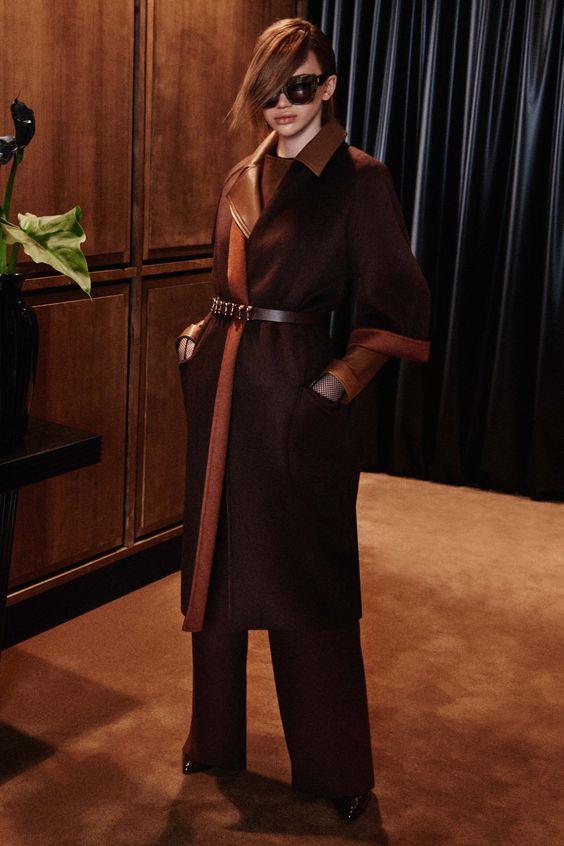 кашемировое пальто халат Max Mara