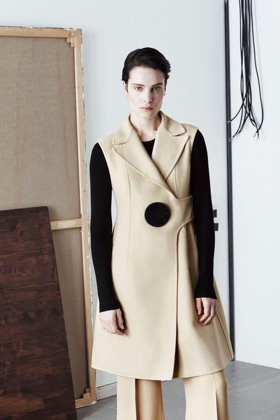 пальто без рукавов Sportmax