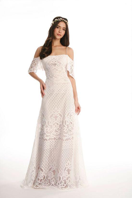 пляжные свадебные платья 2016-2017 Eugenia Couture