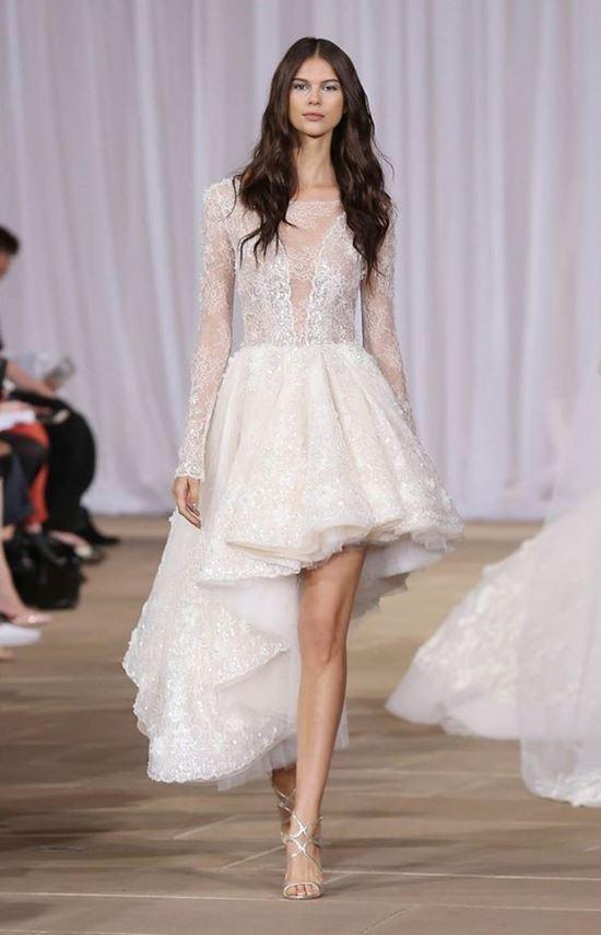 пляжные свадебные платья 2016-2017 Ines di Santo