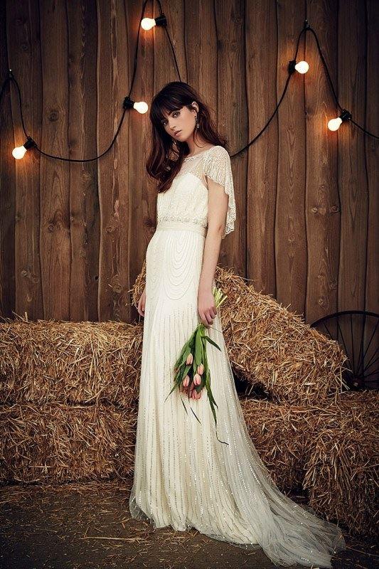 пляжные свадебные платья 2016-2017 Jenny Packham