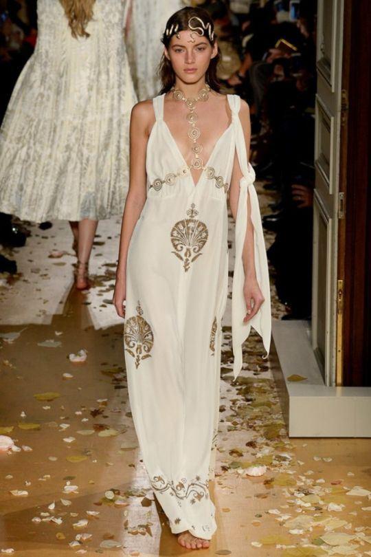 пляжные свадебные платья 2016-2017 Valentino Haute Couture