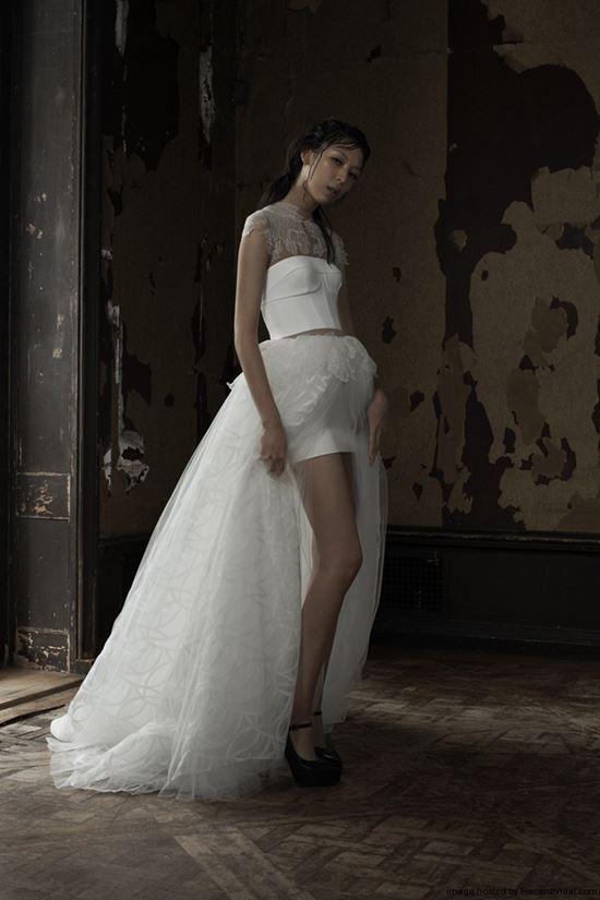 пляжные свадебные платья 2016-2017 Vera Wang