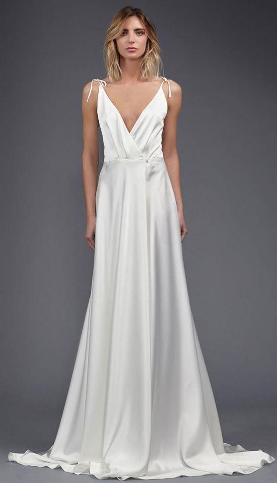 пляжные свадебные платья 2016-2017 Victoria Kyriakides