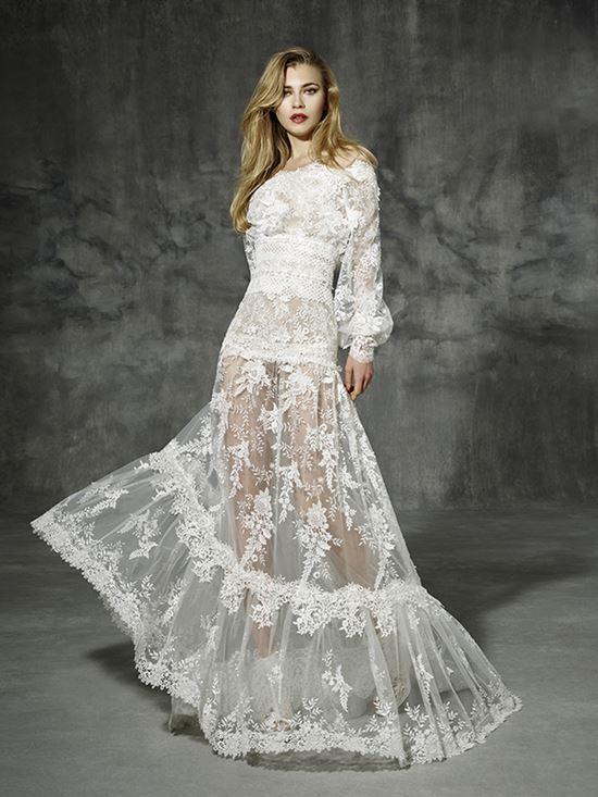пляжные свадебные платья 2016-2017 Yolan Cris