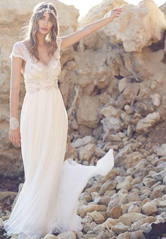пляжные свадебные платья 2016-2017 Anna Campbell