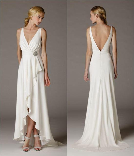 пляжные свадебные платья 2016-2017 Callie /260