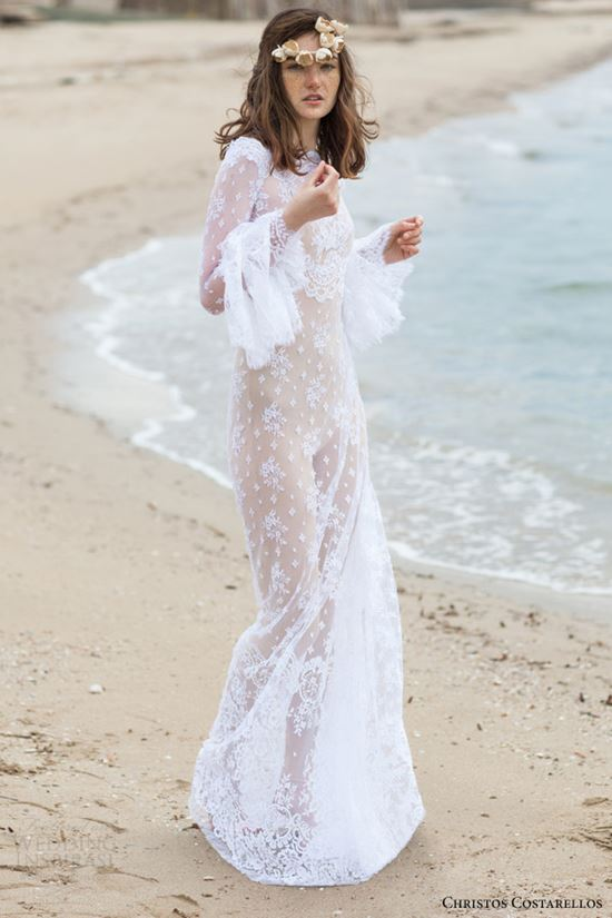 пляжные свадебные платья 2016-2017 (6)