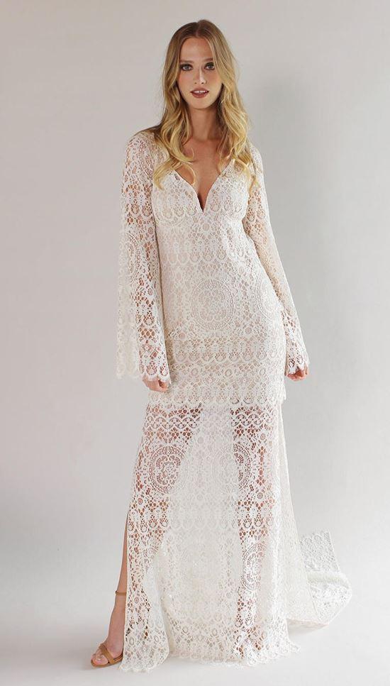 пляжные свадебные платья 2016-2017 Claire Pettibone