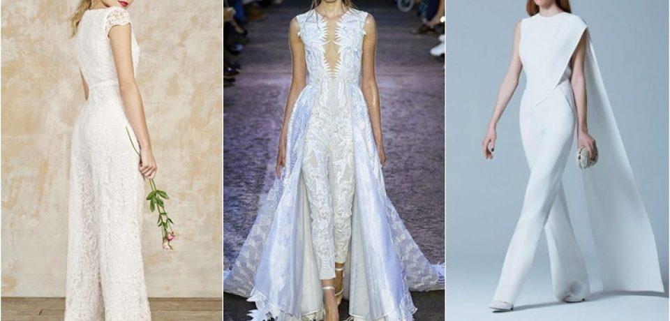 Свадебные комбинезоны 2016-2017: выбор стильной невесты