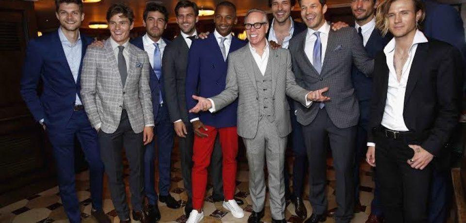 Ужин Томми Хилфигера и Дилана Джонса во время Недели мужской моды в Лондоне
