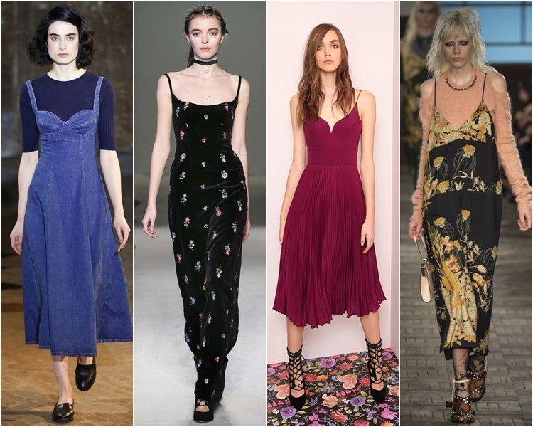 Модные платья осень-зима 2016-2017 тенденции (1)