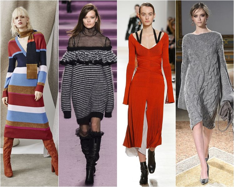 Модные платья осень-зима 2016-2017 тенденции (2)