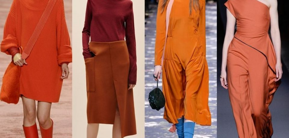 Модные цвета одежды осень-зима 2016-2017
