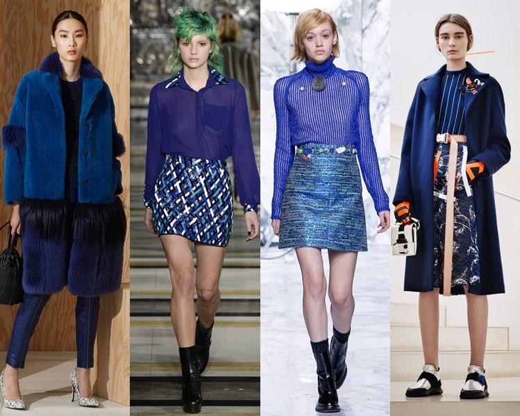 Модный цвет одежды осень 2017 год