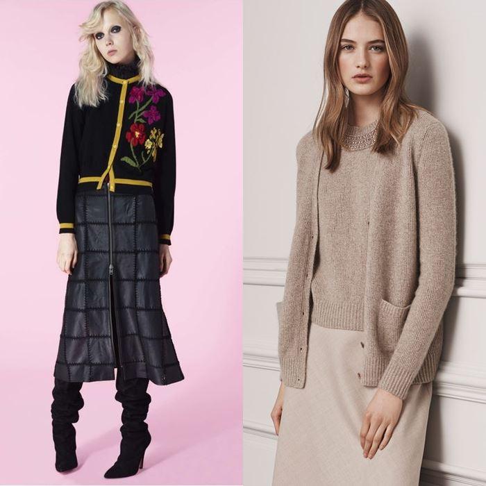 Модные женские кардиганы осень-зима 2016-2017 (18)