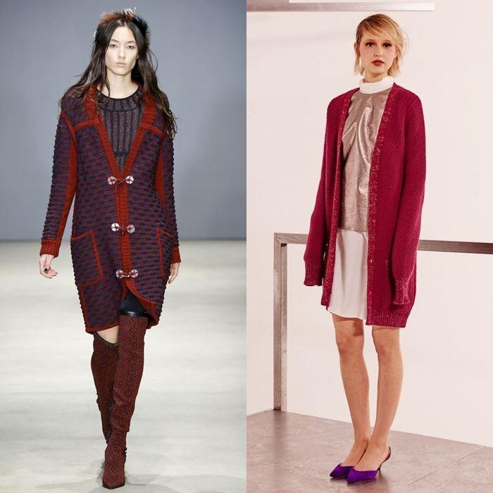 Модные женские кардиганы осень-зима 2016-2017 (5)