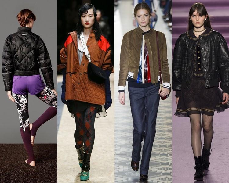 Модные женские куртки осень-зима 2016-2017 (3)