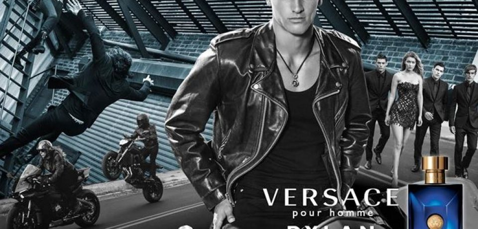 Dylan Blue — новый мужской аромат Versace