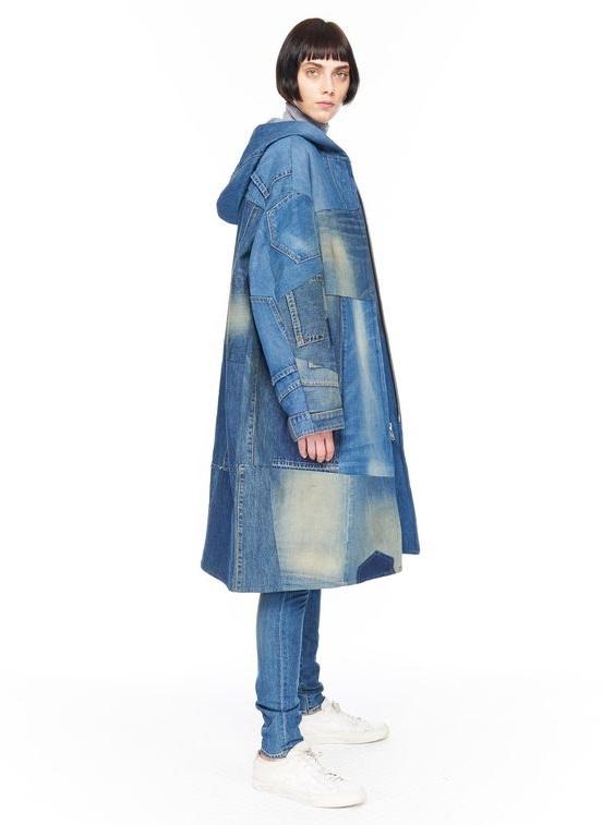 Женские джинсовые пальто 2016-2017 (1)